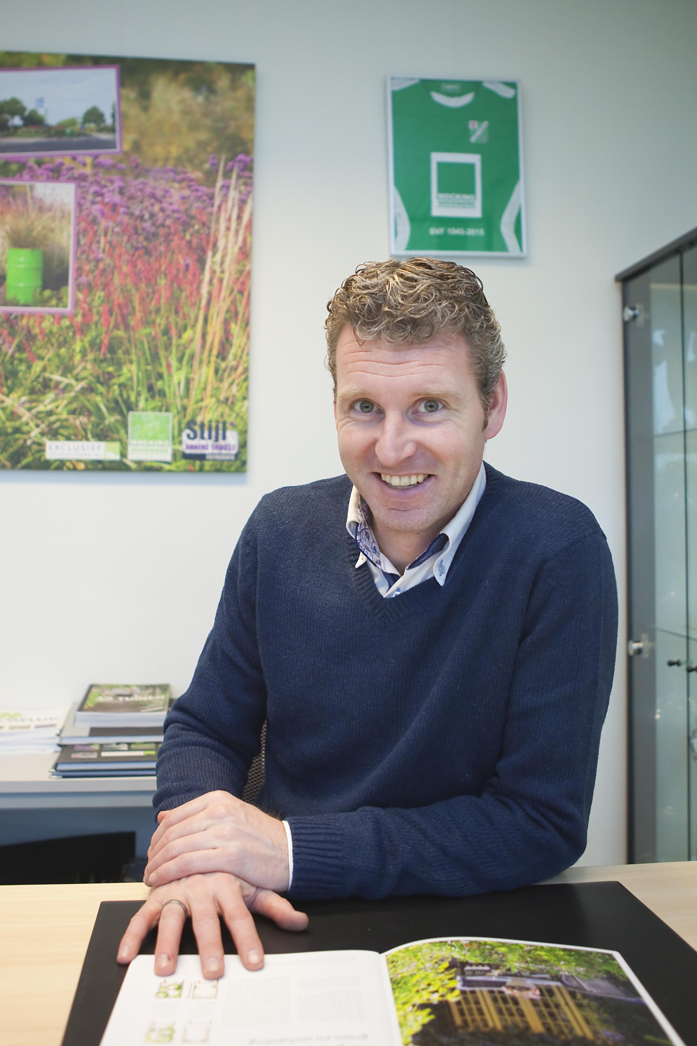 Rob Mocking, eigenaar Mocking Hoveniers