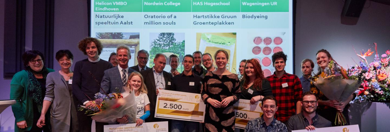 Uitreiking Impactprijs Groen Onderwijs 2018