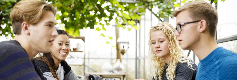 Studenten Urban Green Development van Wellantcollege mbo Houten